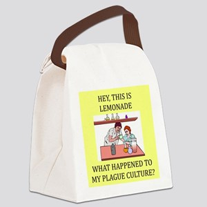 funny biology joke gifts t-shirts Canvas Lunch Bag
