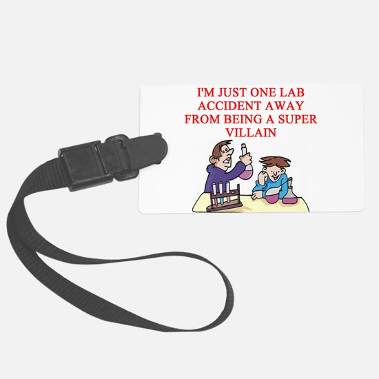 funny chemistry experiment gifts t-shirts Luggage Tag