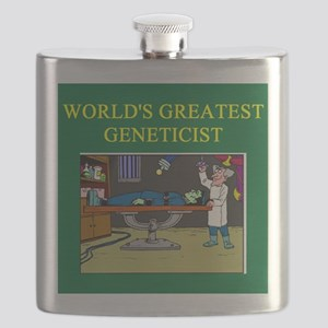 worlds greatedt geneticist gifts t-shirts Flask