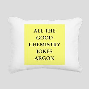 CHEMISTRY joke Rectangular Canvas Pillow