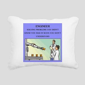 engineering Rectangular Canvas Pillow