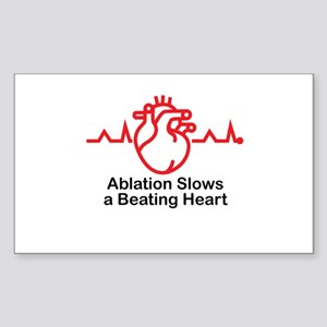 Ablation Slows A Beating Heart ™ 02 Sticker