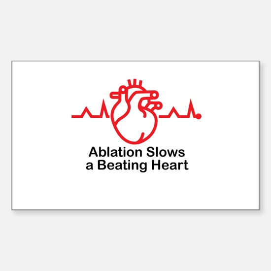 Ablation Slows A Beating Heart ™ 02 Decal