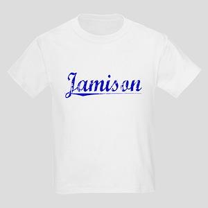 Jamison, Blue, Aged Kids Light T-Shirt