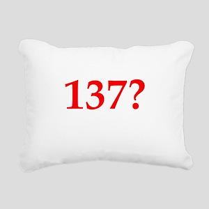 137 Rectangular Canvas Pillow