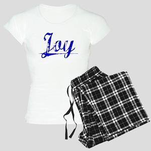 Joy, Blue, Aged Women's Light Pajamas