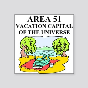 funny alien area 51 abduction gifts t-shirts Squar