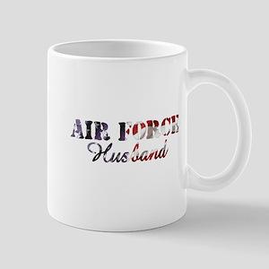 Air Force Husband American Flag Mug