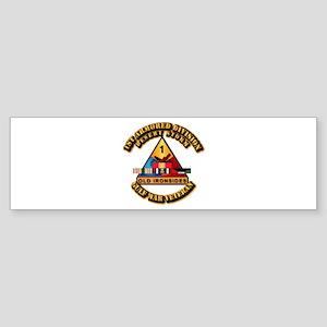 Army - DS - 1st AR Div Sticker (Bumper)