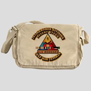Army - DS - 1st AR Div Messenger Bag
