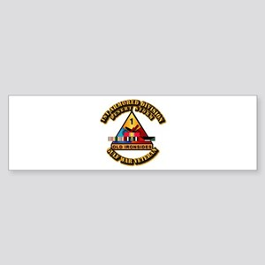 Army - DS - 1st AR Div Sticker (Bumper)