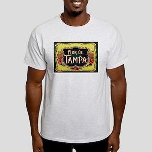 Flower of Tampa Ash Grey T-Shirt
