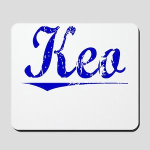 Keo, Blue, Aged Mousepad