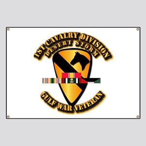 Army - DS - 1st Cav Div Banner