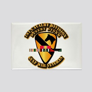 Army - DS - 1st Cav Div Rectangle Magnet