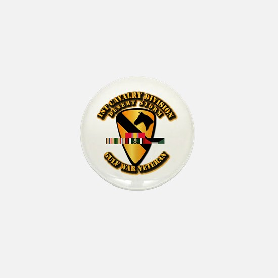 Army - DS - 1st Cav Div Mini Button