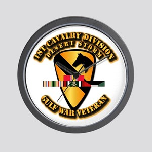 Army - DS - 1st Cav Div Wall Clock