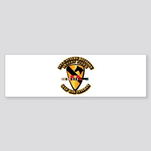 Army - DS - 1st Cav Div Sticker (Bumper)
