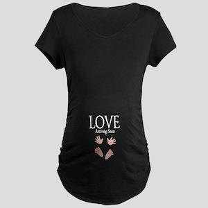 Love Arriving Soon Maternity Design Maternity Dark