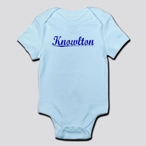 Knowlton, Blue, Aged Infant Bodysuit