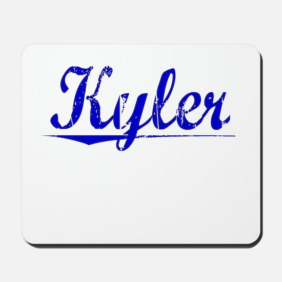 Kyler, Blue, Aged Mousepad