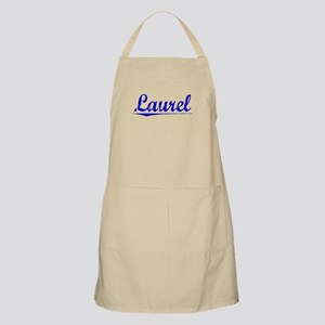 Laurel, Blue, Aged Apron