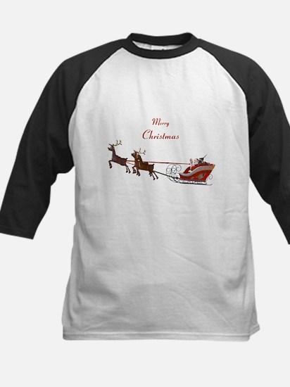 Santa Claus Kids Baseball Jersey