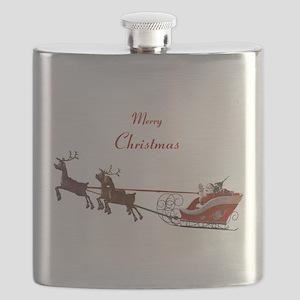Santa Claus Flask
