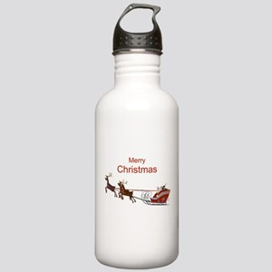 Santa Claus Stainless Water Bottle 1.0L