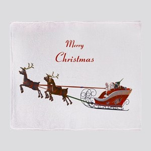 Santa Claus Throw Blanket