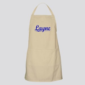 Layne, Blue, Aged Apron