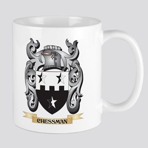 Chessman Family Crest - Chessman Coat of Arms Mugs