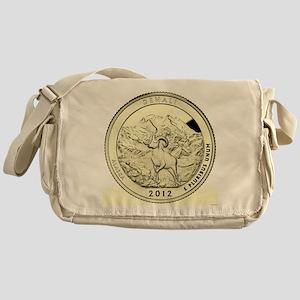 Alaska Quarter 2012 Basic Messenger Bag
