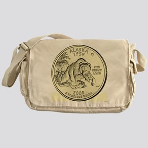 Alaska Quarter 2008 Basic Messenger Bag