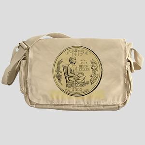 Alabama Quarter 2003 Basic Messenger Bag
