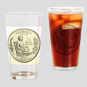 Alabama Quarter 2003 Basic Drinking Glass