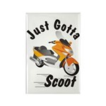 Just Gotta Scoot Xciting Rectangle Magnet (10 pack