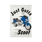 Just Gotta Scoot Xciting Rectangle Magnet