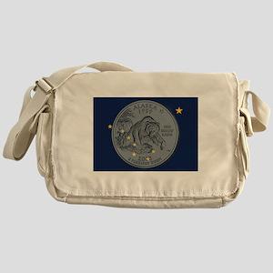 Alaska Quarter 2008 Messenger Bag
