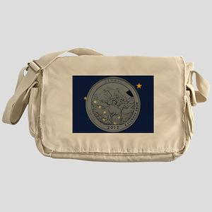 Alaska Quarter 2012 Messenger Bag