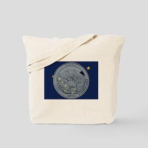 Alaska Quarter 2012 Tote Bag