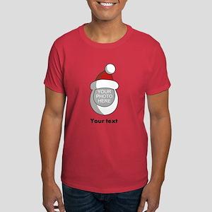 Personalized Santa Christmas Dark T-Shirt