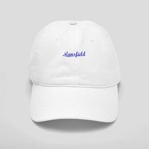Mansfield, Blue, Aged Cap
