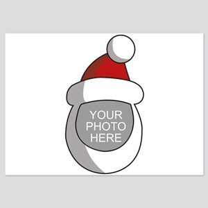 Personalized Santa Christmas 5x7 Flat Cards