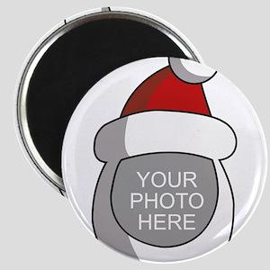 Personalized Santa Christmas Magnet