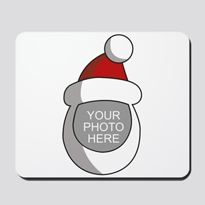 Personalized Santa Christmas Mousepad