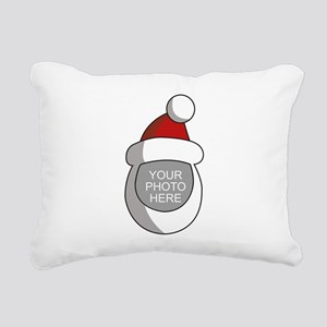 Personalized Santa Christmas Rectangular Canvas Pi