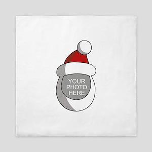 Personalized Santa Christmas Queen Duvet
