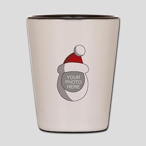 Personalized Santa Christmas Shot Glass