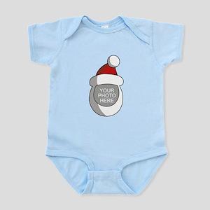 Personalized Santa Christmas Infant Bodysuit